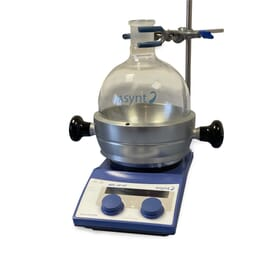 DrySyn 2 L stand alone base for single round bottomed flasks Asynt chemistry