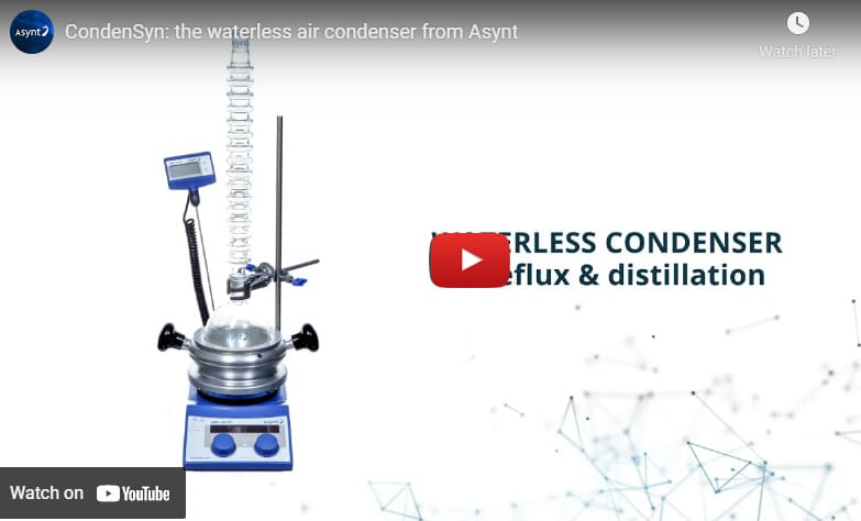 CondenSyn waterless air condensers - the easy switch to work sustainably in your laboratory